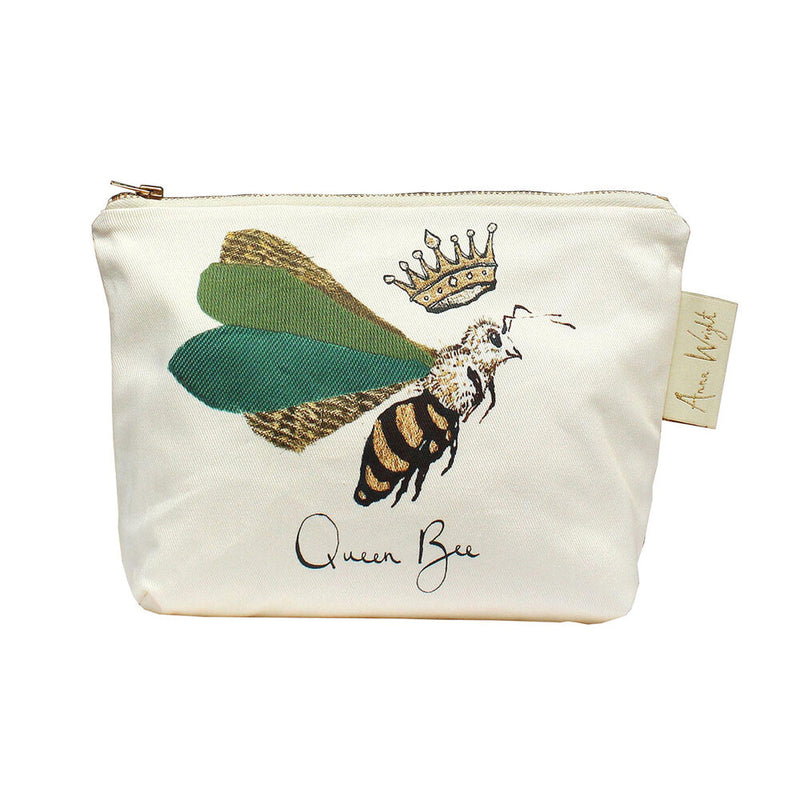 Queen Bee Make Up Bag