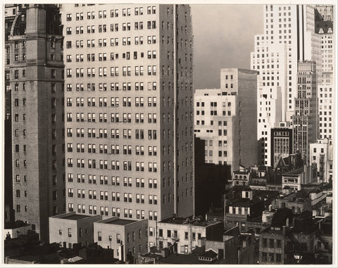 Alfred Stieglitz 'From My Window at An American Place'