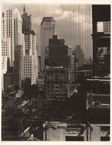 Alfred Stieglitz 'From My Window at An American Place II'