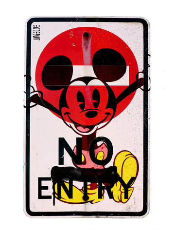 Carl Angelo 'No Entry!'