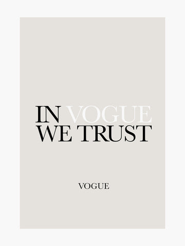 Claire Hopkins 'In Vogue We Trust'