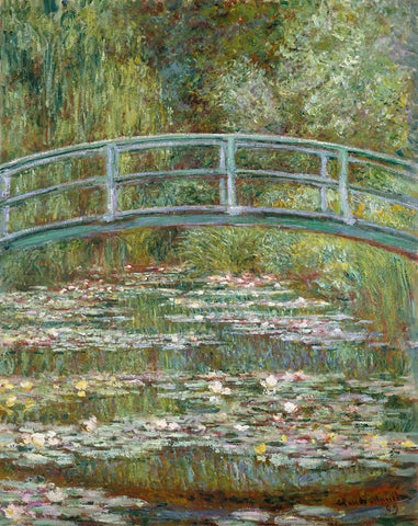 Claude Monet 'Bridge over a Pond of Water Lilies'