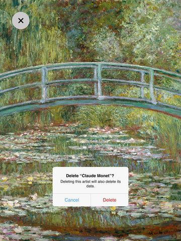 Dustin Hall 'Claude Monet I'