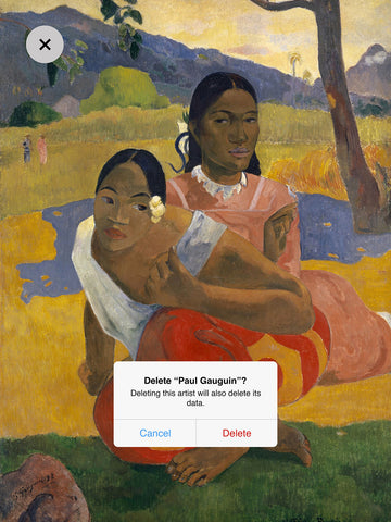Dustin Hall 'Paul Gauguin I'