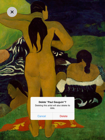 Dustin Hall 'Paul Gauguin II'