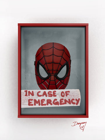 Eliza Dempsey 'Break in case of.. Spiderman'