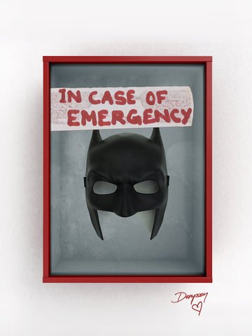 Eliza Dempsey 'Break in case of.. Batman'