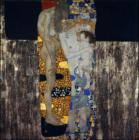 Gustav Klimt 'The Three Ages of Woman'