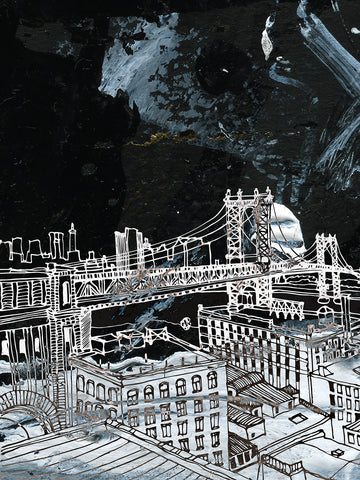 Harry Croft 'New York in Space II'