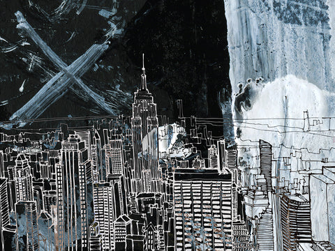Harry Croft 'New York in Space III'