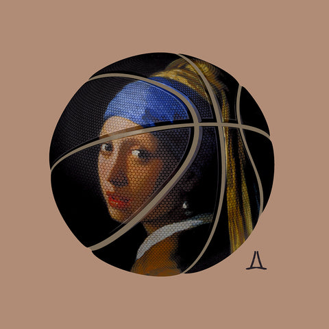 Lance Derby 'Bounce Girl With A Pearl Earring'
