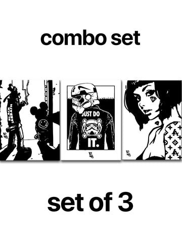 MJ12 Combo Set x 3 Pieces