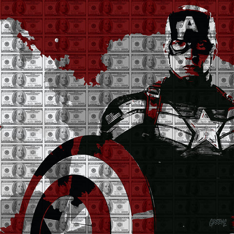 Maurice Greene 'Captain America Money'
