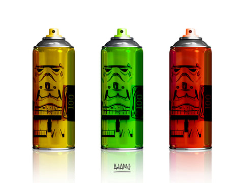 Mike Adams 'Tag it Stormtrooper 100 III'