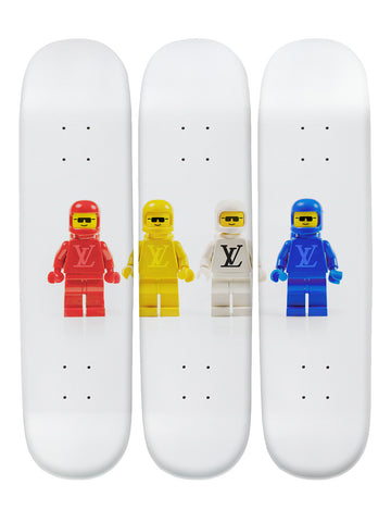 Brendan Boy II 'Skateboard x 3 Combo Wall Art'