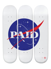 Buzz Alexander 'Skateboard x 3 Combo Wall Art'