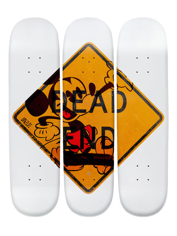 Carl Angelo III 'Skateboard x 3 Combo Wall Art'