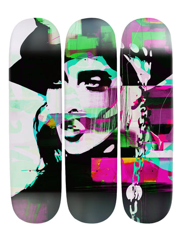 Carlo Couture IV 'Skateboard x 3 Combo Wall Art'