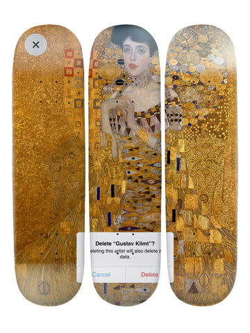 Dustin Hall II 'Skateboard x 3 Combo Wall Art'
