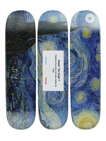 Dustin Hall IV 'Skateboard x 3 Combo Wall Art'