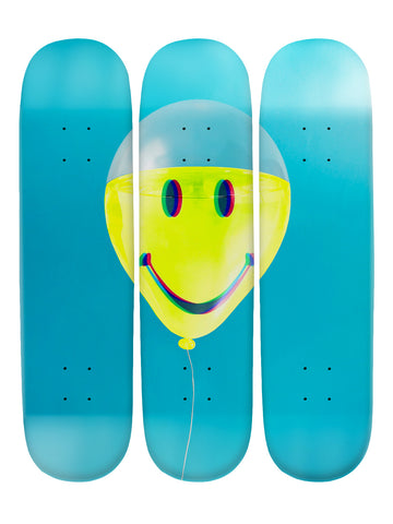 Florence Knight II 'Skateboard x 3 Combo Wall Art'