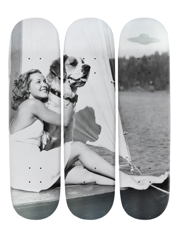 Georgina Fallows II 'Skateboard x 3 Combo Wall Art'