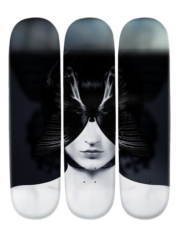 Matty Hammond 'Skateboard x 3 Combo Wall Art'