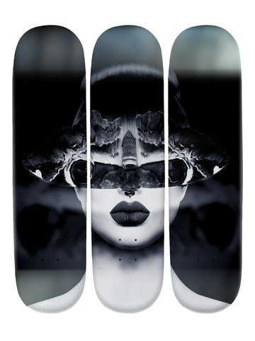 Matty Hammond III 'Skateboard x 3 Combo Wall Art'
