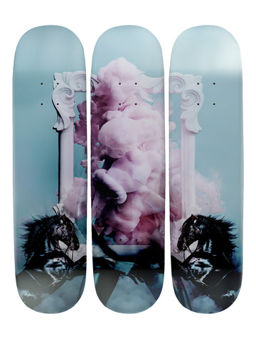 Zara Banks 'Skateboard x 3 Combo Wall Art'