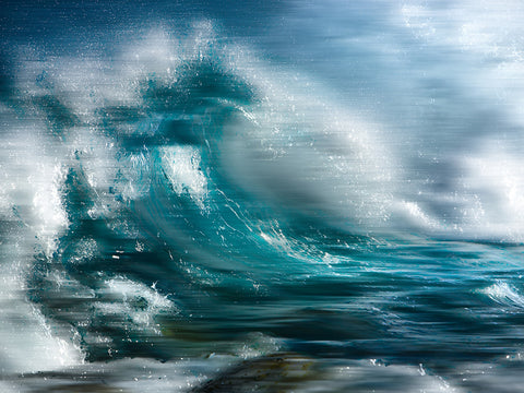 "William Prior ""Crushing Waves I"""
