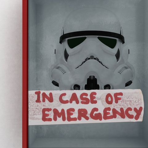 Eliza Dempsey 'Break in case of.. Stormtrooper'
