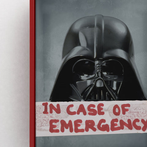 Eliza Dempsey 'Break in case of.. Darth Vader'