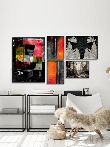 Gallery Wall Combo Set 079