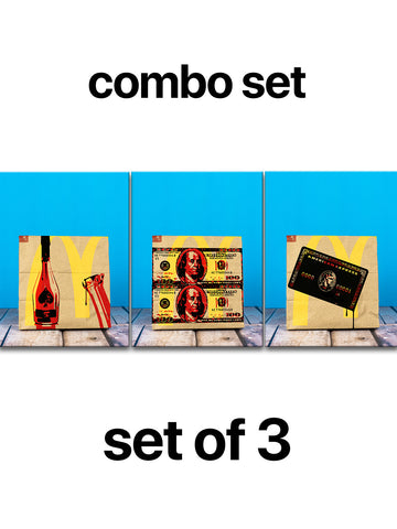 George Hunt Combo Set x 3 Pieces