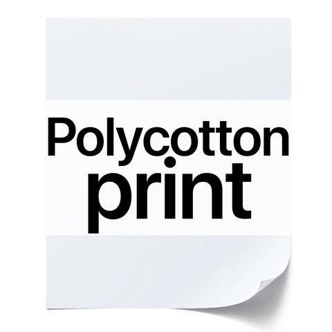 Polycotton Print (Bronze Edition)