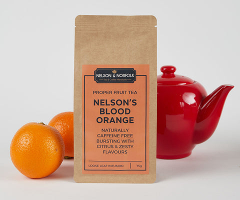 Nelson's Blood Orange Fruit Infusion - Naturally Caffeine Free