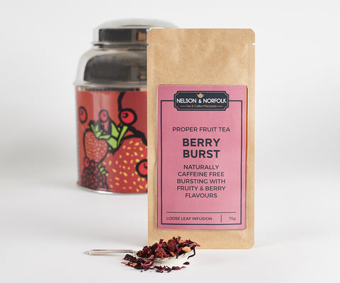 Berry Burst Fruit Infusion - Fruity & Sweet - Naturally Caffeine Free
