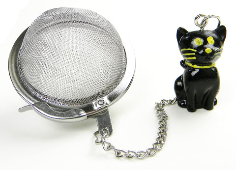 Tea Infuser - Black Cat