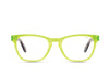 HARDWIRE MINI - NEON YELLOW TORTOISE TEMPLE/CLEAR