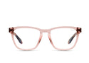 LIGHT BROWN TORTOISE TEMPLE/CLEAR
