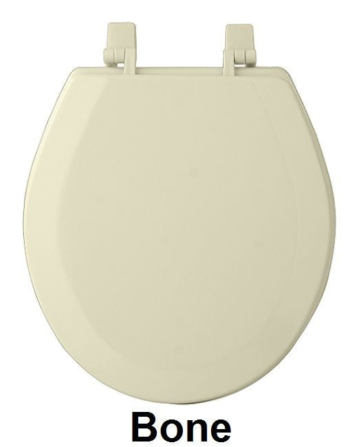 TOILET SEAT ST WOOD BONE   PK4