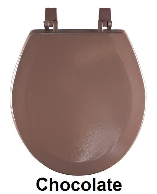TOILET SEAT ST WOOD CHOCLT PK4