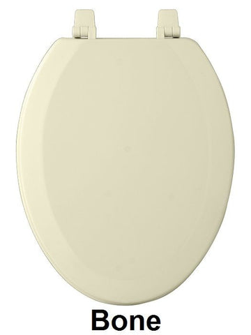 TOILET SEAT EL WOOD  BONE  PK4