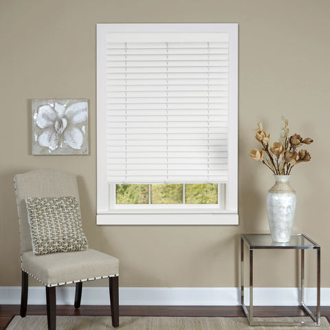 "Cordless Luna 2"" Vinyl Plantation Blind"