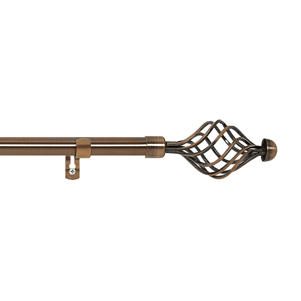 Metallo Decorative Rod & Finial: Odyssey
