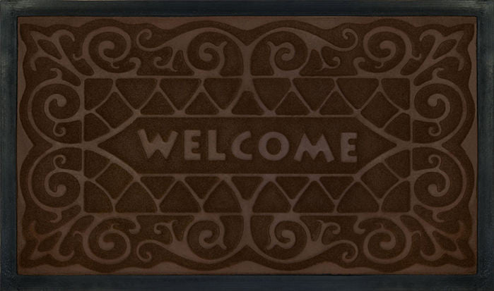 WELCOMEMAT W.IRON18X30CFFE P12