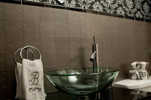 Metallo 4x4 Vinyl Wall Tiles