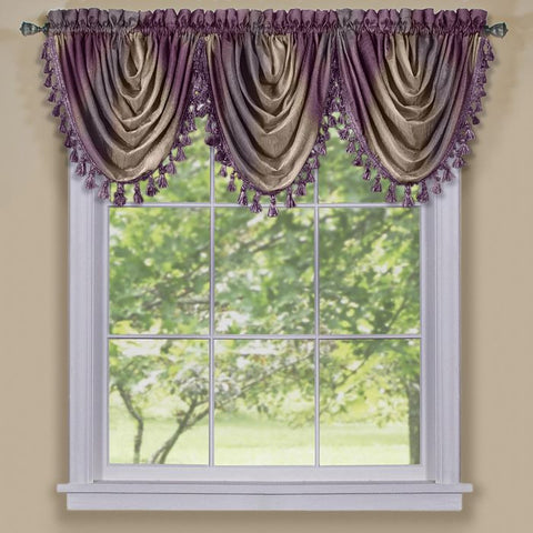 Ombre Waterfall Valance