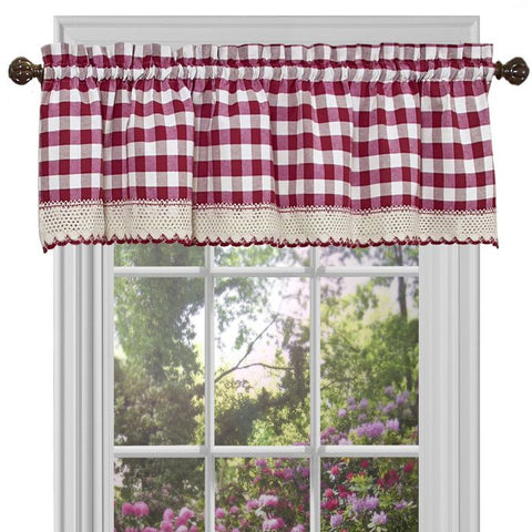 Buffalo Check Valance