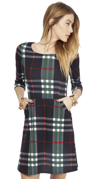 Perfectly Plaid Dress